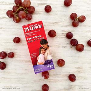 $6.96 家中常备Tylenol 泰诺婴儿/少儿退烧止痛滴剂 感冒流感缓解症状