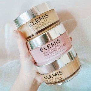 全线8折+满额送价值$99礼包Elemis 高端小众护肤 收骨胶原卸妆膏 明星产品 纯植物萃取