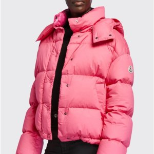 Moncler$325 Gift Card RewardOnia Cropped Puffer Jacket w/ Detachable Hood