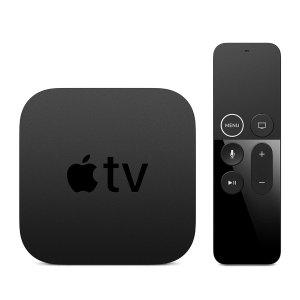 $179.98起(原价$229)Apple TV 4K 32GB/64GB 老款智能电视盒子
