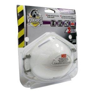 线上缺货 可店内自取Workhorse N95级别工用口罩 3枚