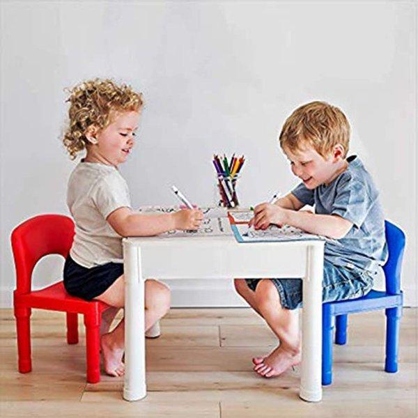 PlayBuild 儿童 4 合 1 积木桌
