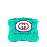 Gucci Ribbed Logo 毛线帽