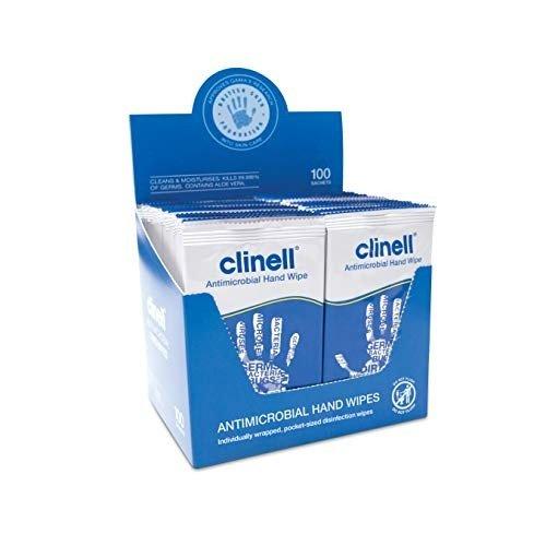 手部抗菌湿巾 100包独立包装