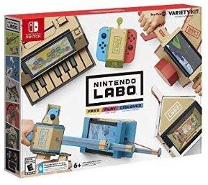 $39.99 (原价$69.99)Nintendo Labo Variety Kit Switch 纸板游戏套装