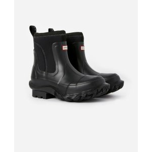 Stella McCartneyWomen's Black Stella x Hunter Boots | Stella McCartney Men