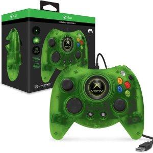 $49.99(原价$69.99)Xbox 初代手柄 Duke 绿色限量复刻版 支持Xbox One / Win10