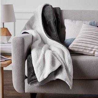 $13.68AmazonBasics 超舒适柔软毛绒毯子