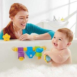 $9.97(原价$22.81)史低价:费雪Fisher-Price 婴儿洗澡玩具 让宝宝更爱洗澡