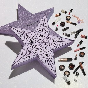 $195 ($300 Value) +Up to $700 GCEnding Soon: Saks Fifth Avenue MAC Stars For Days Advent Calendar