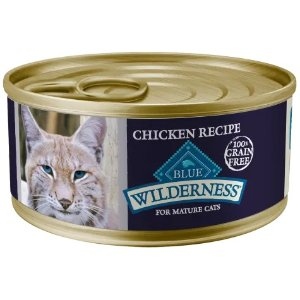 Blue Buffalo Wilderness鸡肉味猫罐头 5.5oz 24罐