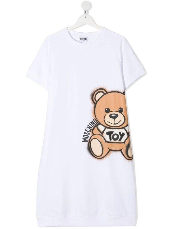 泰迪熊T恤裙