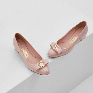 低至6折 蝴蝶结鞋$192.5起Salvatore Ferragamo官网 年终大促开启