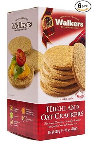 现价$14.39(原价$17.99)Walkers Shortbread 苏格兰燕麦饼干 9.9oz 6盒