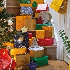 满送修复霜 or 面膜上新:L'occitane 圣诞套装 送礼不出错 自用也相宜