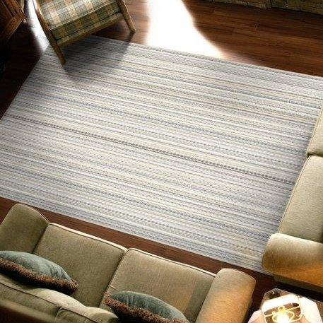 """30""""x40"""" 条纹装饰地毯"""