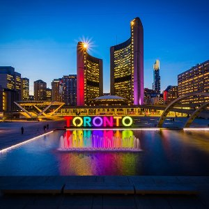 From $270 RTPalm Springs CA to Toronto Canada Airfare