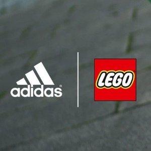 满额送乐高滑冰套装 享积分LEGO官网 限量版adidas合作款儿童鞋履服饰热卖