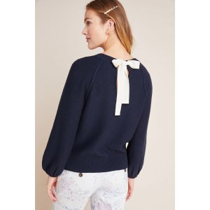 AnthropologieEmily Puff-Sleeved Sweater