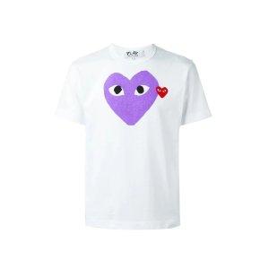 Comme des Garcons PlayHeart Print T恤