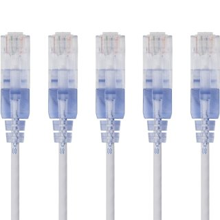 Starting at $5Monoprice SlimRun Cat6A Ethernet Cables 5-pack