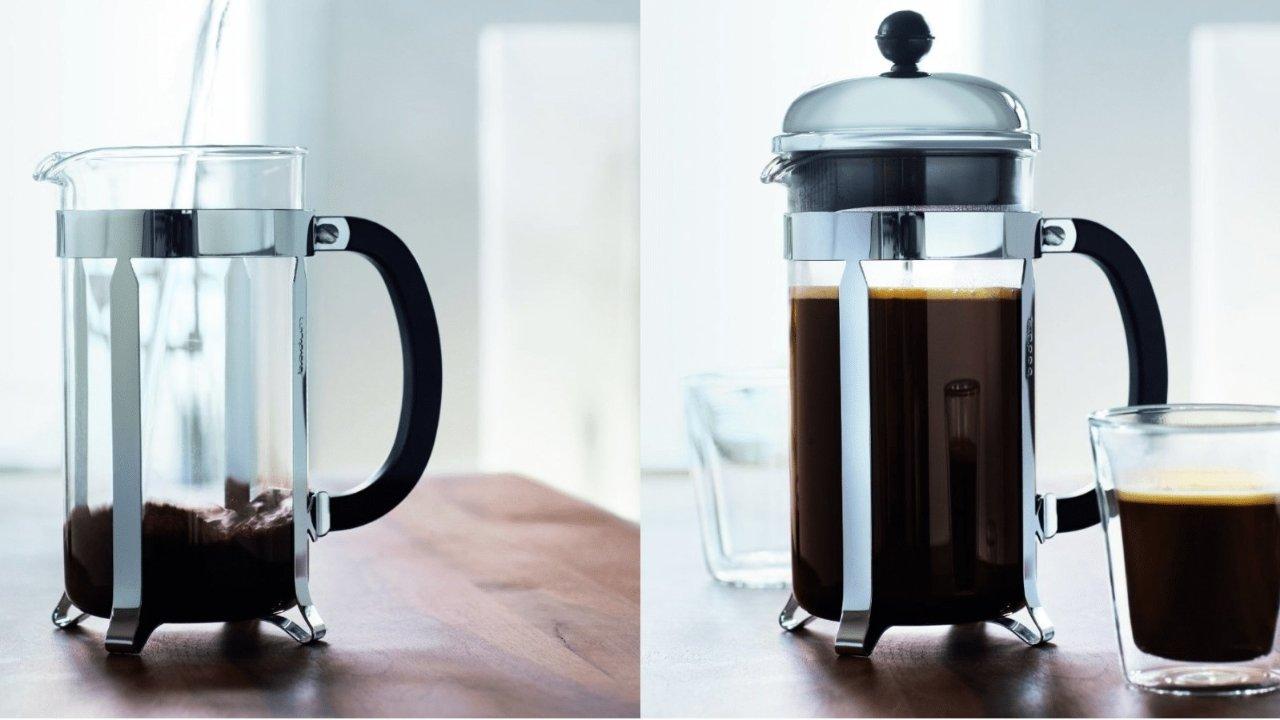 咖啡器具选购之法压壶,自己在家也可以做出满意的咖啡了!