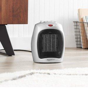 $24.76(原价$55.15)AmazonBasics DQ075 陶瓷电取暖器/电风扇 取暖神器