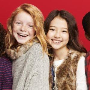 史低价包邮  全站一律4折+满$40额外8折黑五独家:国民童装品牌OshKosh BGosh 黑五特卖+超值返券 收超值4合一外套$27