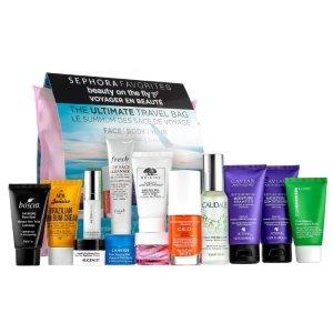 $50 (价值$198)+送中样好礼上新:Sephora Favorites 丝芙兰精选 护肤护发套装,旅行必备