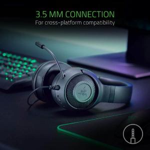 $39.99包邮(原价$69.99)史低价:Razer Kraken X 北海巨妖包耳式游戏耳机 7.1环绕声