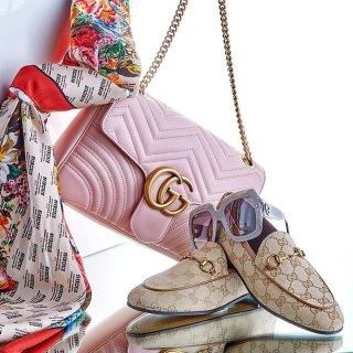 低至5折 $900+收Laminated拼色挎包Century 21 Gucci 美包美鞋等热销单品专场热卖