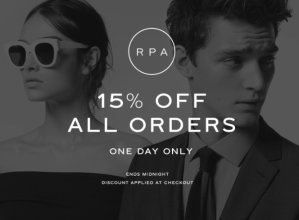 15% OffSitewide One Day Sale @ Reiss