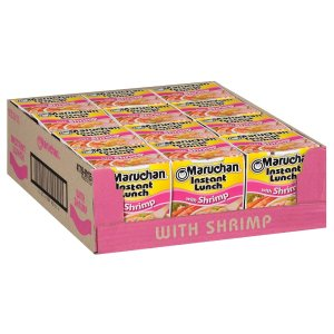 $3.36Maruchan Instant Lunch  Beef Flavor, 2.25 Oz, Pack of 12