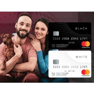 100%通过 无月租费年费BLACK&WHITE 预付信用卡 比同类产品便宜65% 非常适合在校学生