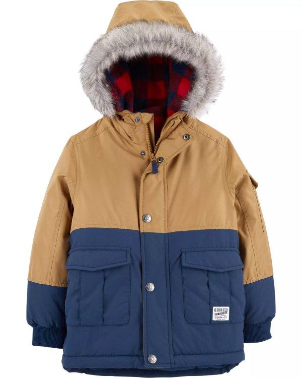 男童、大童4合一外套