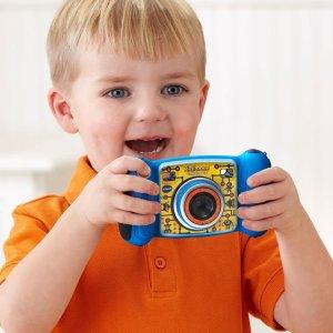 蓝色款仅$26.31原价$49.99)VTech 防摔儿童漫画单反,摄影师从娃抓起