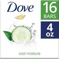 Dove 清洁皂 黄瓜绿茶味 16个装