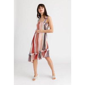 Petite StudioQuinn Dress - Rainbow