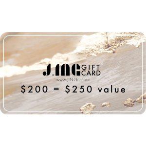 J.INGJ.ING Anniversary Special Gift Card