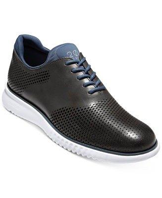 皮质牛津运动鞋