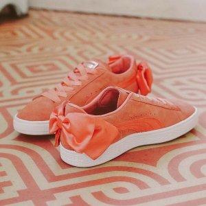 低至35折 £25起收蝴蝶结系列PUMA 精选高颜值运动鞋折扣热卖