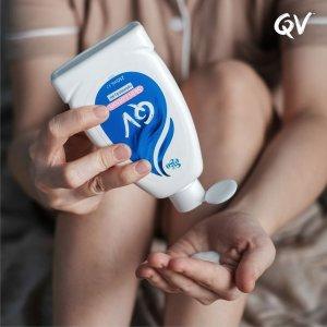 8折QV 婴儿沐浴油、保湿霜 天然无添加