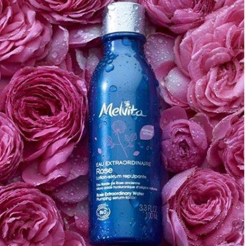 最高享9折 仅€6收王牌玫瑰花水Melvita 有机花水纯露 带你去花海徜徉 孕妇可用温和放心