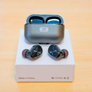 $26.99 美亚4.6星, 留言抽奖已开TWS 真无线蓝牙耳机 IPX7级防水 质感超棒 内附实物图