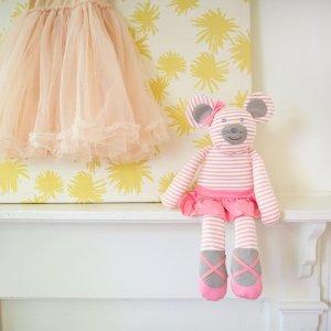 低至6折+额外8.5折Project Nursery宝宝用品大促销 萌趣牙胶手工玩偶