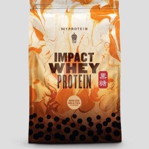 低至3折+额外9.2折Myprotein 中国官网新春特惠 限定奶茶口味健身补剂上线