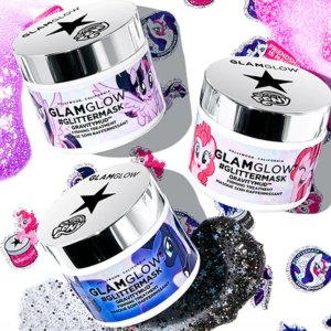 Free Full-Size Dreamduowith $59 MY LITTLE PONY #GLITTERMASK GRAVITYMUD™ FIRMING TREATMENT Purchase @ Glamglow