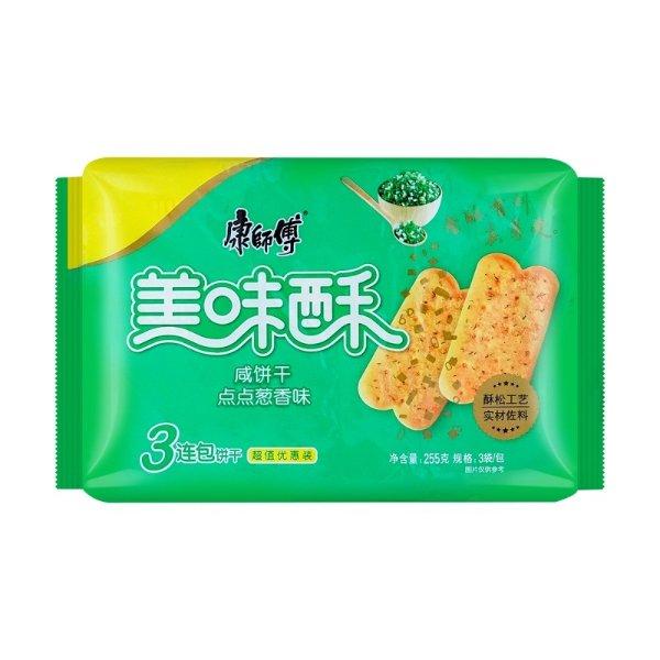 康师傅 美味酥 葱香味 255g
