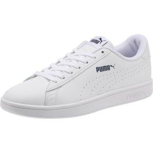 PumaSmash v2 Leather Perf 小白鞋