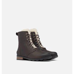 Sorel加绒冬靴